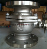 "ANSI 4 "" 300lb Wcb Peek Sealed Ball Valve (Q41PEEK-300LB-4 "")"