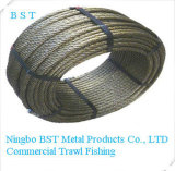 Commercial Fishing (3-40mm)를 위한 직류 전기를 통한 Steel Wire Rope