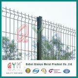 Geschweißter Maschendraht-Zaun/Zaun-Pfosten/geschweißtes Ineinander greifen-Zaun-Panel