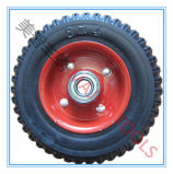 6X2 Agricultural Machine Tyre Solid Rubber Wheel