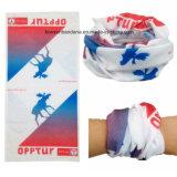 China-Fabrik-Erzeugnis kundenspezifisches Firmenzeichen gedrucktes Microfiber nahtloses Multifunktionsgefäß Headwear