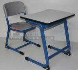 최신 Sale School Furniture School Wooden Double Desk 및 Chair
