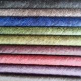 De Stof van het suède van 100%Polyester met het Plakken (832 die) wordt gemaakt