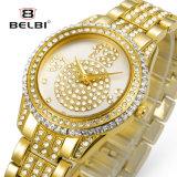 Le vigilanze delle donne di lusso del diamante di modo di Belbi impermeabilizzano la vigilanza del quarzo per le donne