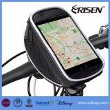 Pannier impermeável da câmara de ar da parte superior do suporte da montagem da bicicleta do saco do telefone da bicicleta