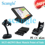 15inch alle in einem Terminal Touch Screen Positions-System/POS