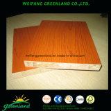 18mm couleur cerise bloc Melamined Carte avec falcata Core