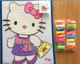 24のカラーハンドメイドDIY教育の子供のおもちゃの無毒な魔法の泡のパテの粘土の製造所の直売の極度の軽く無毒な模倣粘土か模倣粘土またはModelin