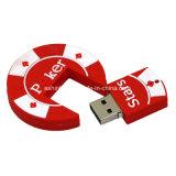 Azionamento dell'istantaneo del USB del PVC di memoria Flash del USB delle stelle della mazza dell'OEM