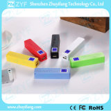 2600mAh de externe Bank van de Macht van het Parfum van de Batterij met LEIDENE Vertoning (ZYF8059)