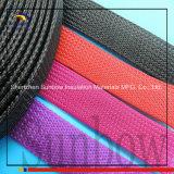 manicotto Braided espansibile nero del cavo dell'animale domestico di 40mm