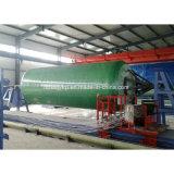 Equipo químico de la máquina de enrollamiento de los tanques de FRP