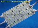 Module DC12V imperméable à l'eau 7512 de SMD 5730-6LED