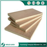 Linyi Commercial Plywood Fabricante / Pencil Cedar Kuering Bingtangor Birch Okoume Contraplacado