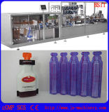 Líquido plástico de la botella de Pet/PE que forma la máquina de relleno del lacre para el pesticida