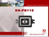 Haltbare Plastikhöhenruder-Druckknöpfe (SN-PB118)