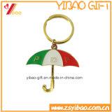Изготовленный на заказ металл Keychain зонтика для подарка промотирования (YB-LY-K-09)