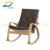 كلّ [ووودن فرم] خضوع خشبيّة يسترخي يهزّز كرسي تثبيت