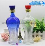 Bottiglia di vino di vetro di alta qualità calda di vendita da vendere
