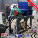 ISOの二重シャフトのシュレッダーのための機械をリサイクルするPVC