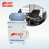 Brown gaz moteur de voiture Hho nettoyant Machine à laver la voiture de carbone
