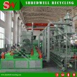 Scrap Tyre Recycle를 위한 낮은 Power Consume Tire Recycling Line