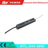 24V 1A impermeabilizan la fuente de alimentación del LED con las Htl-Series de RoHS del Ce