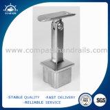 Corchete de la barandilla del acero inoxidable para el tubo cuadrado
