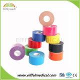 Una muestra gratis de deportes de Fisioterapia de algodón elástico alto cinta Kinesiología