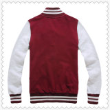 異なったカラーのカスタム人の綿のHoodieの野球の学校代表のジャケット