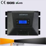 Contrôleurs automatiques de charge d'énergie solaire de la tension évaluée 50A MPPT de l'écran LCD MPPT100/50d 12V 24V de RoHS Fangpusun de la CE