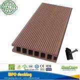Decking composé bon marché imperméable à l'eau extérieur de Decking de WPC/plancher composé