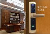 Blocage de porte biométrique d'empreinte digitale pour la résidence