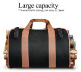 La legna da ardere di legno del sacchetto di Tote della tela di canapa resistente durevole trasporta il sacchetto