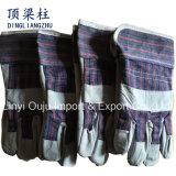 10,5-дюймовый Cowhide защитный из натуральной кожи ручной сварки перчатки с маркировкой CE