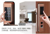 Bloqueo de puerta elegante de la huella digital biométrica multi del dispositivo con el telclado numérico del tacto