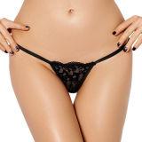 Plus Size hueco String de encaje a las mujeres ropa interior erótica caliente bragas Bragas Sexy T-Back Tientos Briefs