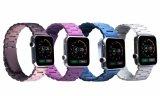 Novas cores Links Theree trança de relógio de aço inoxidável sólido para Apple