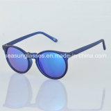 Óculos de sol antiofuscantes polarizados do espelho da forma do projeto Eyeglass unisex novo