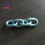 catena a maglia placcata zinco DIN766 di 8mm bruscamente