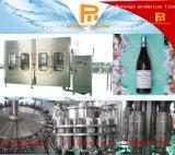 Het Vullen van de Wijn van het Bier van de Fles van het glas Machine met Kroonkurken