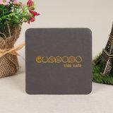 Um papel absorvente Coaster Bebida Papel Coasters (YH-DC002)