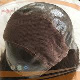 Volle überzogene dunkler Brown-Farben-Frauen-Polyperücke (PPG-l-0953)
