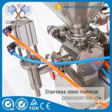 Remplissage liquide de doubles gicleurs avec le piston de machine de remplissage