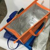 Sacchetto piegante pieghevole riutilizzabile non tessuto caldo del carrello degli insiemi di acquisto 4 del supermercato di vendita