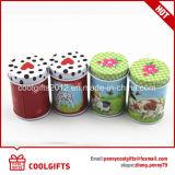 Usine de thé d'impression personnalisée de l'emballage ronde Boîte