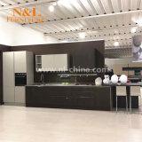 Luxe élégant moderne en bois Meubles de cuisine du cabinet d'accueil