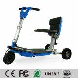 """Triciclo por atacado que dobra o """"trotinette"""" elétrico luxuoso da mobilidade"""