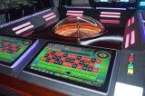 Macchina originale internazionale delle roulette del gioco del casinò nel centro del video gioco