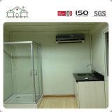 Casa prefabricada del envase de China/casero movibles con el tocador